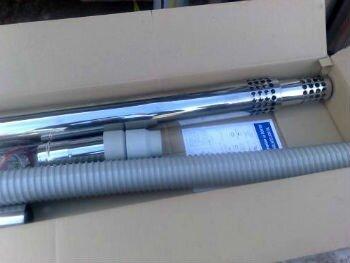 Новый коаксиальный дымоход в коробке