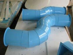 Пластиковая вентиляционная труба