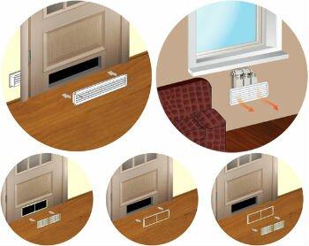 Принцип работы вентиляционной решетки
