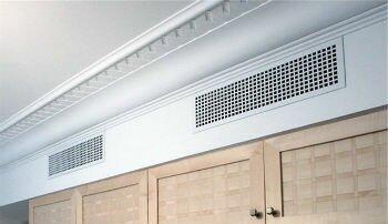 Вертикальная вентиляционная решетка