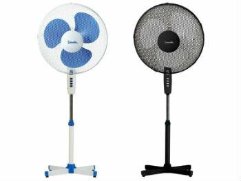 Виды напольных бытовых вентиляторов