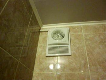 Приточный вентилятор в ванной комнате