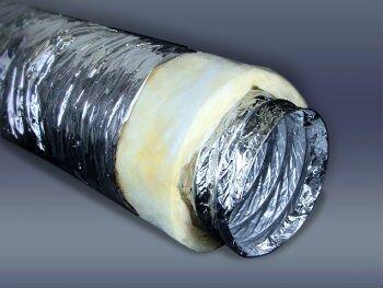 Теплоизолированный воздуховод