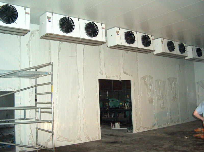 Воздухоохладитель воздуха на складе