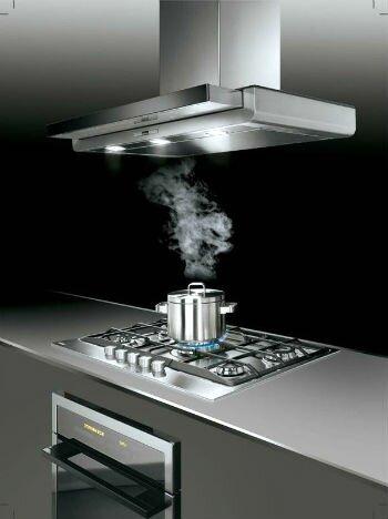 Стильная кухонная вытяжка