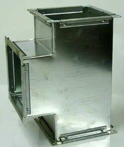 Прямоугольный воздуховод для вытяжки