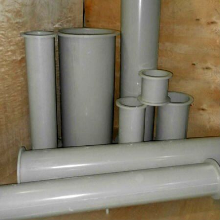 Пластиковые вентиляционные трубы круглого сечения