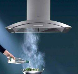Стильный дизайн кухонной вытяжки