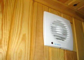 Встроенный вытяжной вентилятор