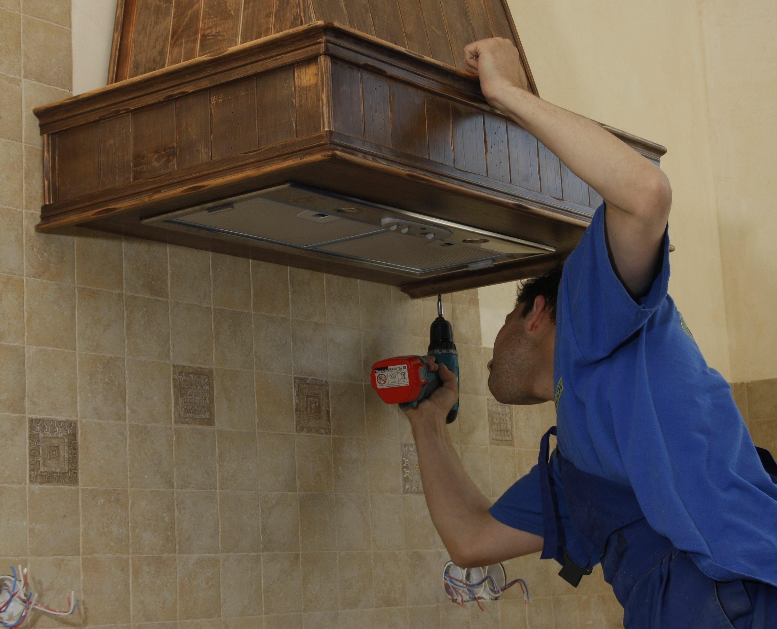 Ремонтируем кухонную вытяжку