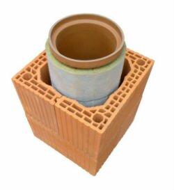 Так выглядит изнутри дымоход из керамики.