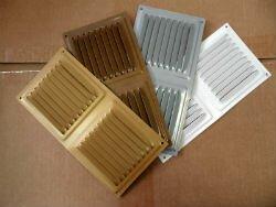 Виды металлических вентиляционных решеток