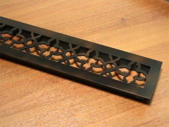 Металлическая решетка прямоугольная