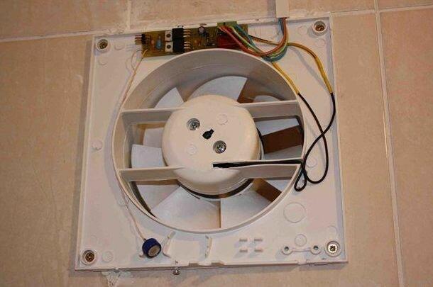 Вентилятор для ванной без крышки