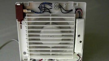 Задняя часть вентилятора