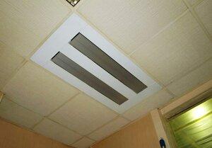 Встроенный в потолок инфракрасный обогреватель ballu