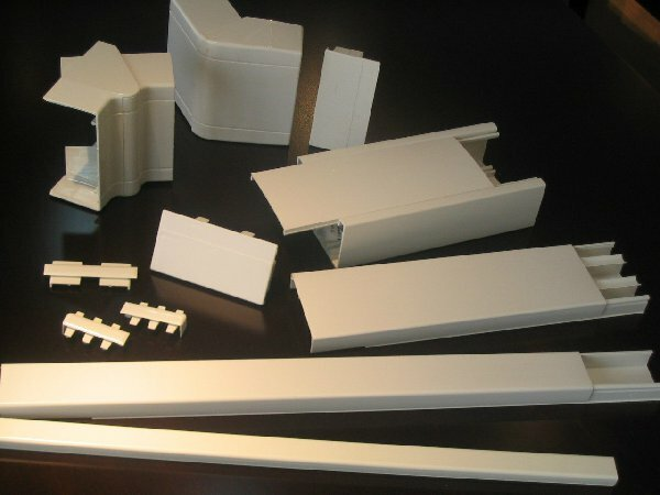 Вентиляционные короба пластиковые для вытяжки