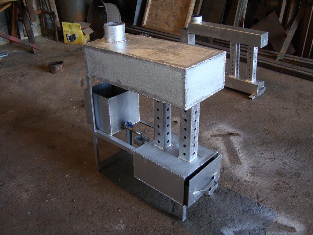 Переносной обогреватель для гаража